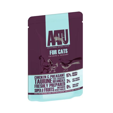 AATU – מזון רטוב לחתולים – עוף ופסיון 85 גרם