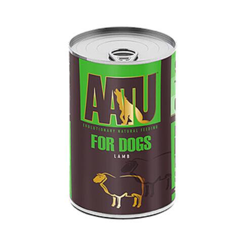 AATU – פחית מזון רטוב לכלבים – בשר טלה 400 גרם